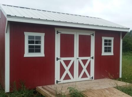 Red Shed - Customer checkout shed